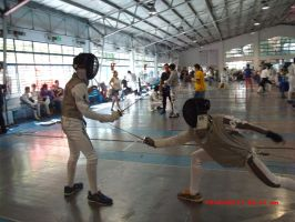 Fencing is life by butterflyknife246231