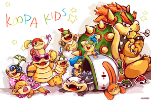 KOOPA KIDS by ohmonah
