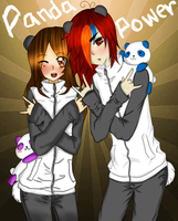 Panda power - collab caboai by yenysanoja122