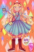 Star Butterfly by cherrychow