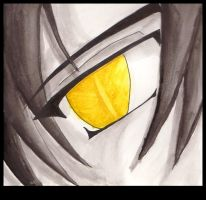Emphasis- Golden Eye by saiyanbutterfly