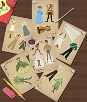 PatF Paper Dolls Collage by Cor104
