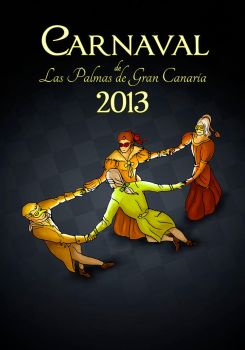 Carnival of Las Palmas poster contest submit by yeraymuaddib