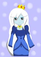 Ice Queen (SPEEDPAINT VIDEO IN DESCRIPTION) by kawaiigirl300