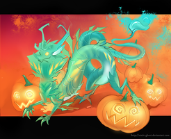 October dragon by Static-ghost