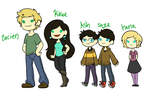 Human Lilybees by TheLittlehoneybee