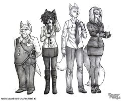 Galaxy Parell - Miscellaneous Characters #3 by NikeMike34