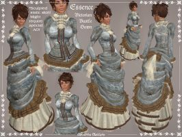 Essence Victorian Bustle Gown by Elvina-Ewing