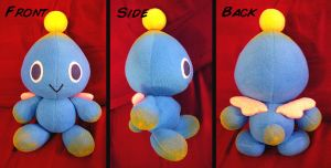 Commission: Chao Plushie by Red-Flare