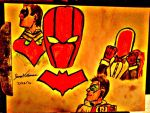 Robins and Red Hood - SkooB 7/28/16 by SkoobyForever