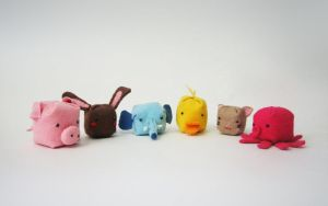 plushie animal kingdom by tenshi-no-pocky