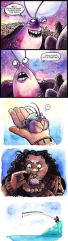 Tamatoa hasn't always been this glam by JohannesVIII