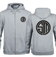 League of Legends CD Logo Zip Up Hoodies by Jessical1