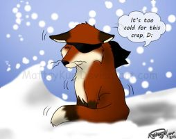 Too Cold D: by MattsyKun
