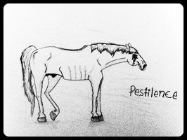 Four Horses of the Apocalypse: Pestilence by SydeTrakked