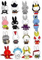 Generation Miffy Four by likimonster