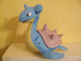 Pokemon Papercraft - Lapras by x0xChelseax0x
