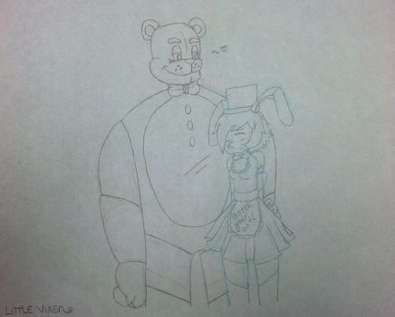 ~:Freddy Fazbear Shipping REQUEST:~ by LittlestVixen