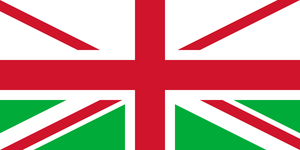 Union Jack without Scotland - second variant by SMiki55