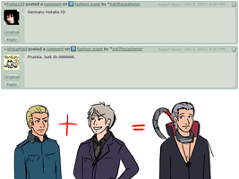 One time Germany and Prussia hooked up by AskTheJashinist