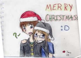 Lil' Holiday Card by Psygirl12