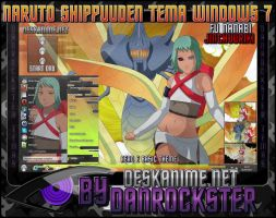 Fu Nanabi Jinchuuriki Theme Windows 7 by Danrockster