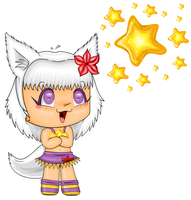 Ms Paint Chibi for THExKESS 2 by CandyArtist