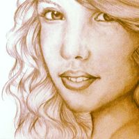 Drawing of Taylor Swift by DontEatMyPiexD