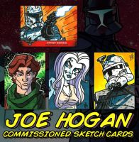 Commish - SW Sketch Cards by JoeHoganArt