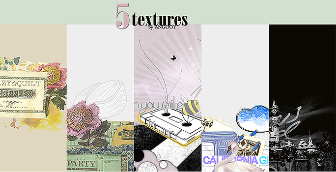 5 TEXTURES by ANGOOY