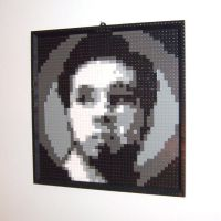 Self Portrait in LEGO by gloriouskyle