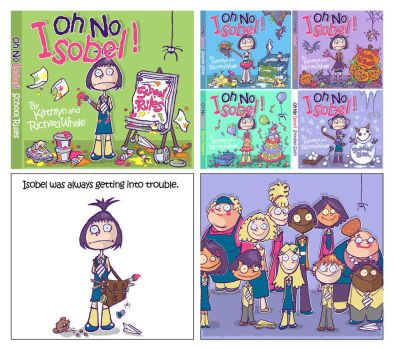 Children's Book Samples - Oh No Isobel! by RAWhale