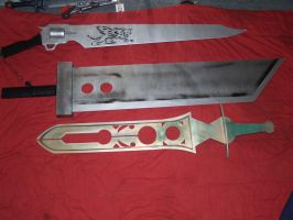 gunblade Buster Rune sword ff by franchii-manchii