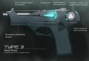 Hybrid Hand Pistol by recurring