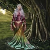 Alexia, Queen of the Elves by gothika248
