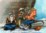 One Piece. Cold. by jen-and-kris