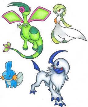 Pokemon from Saphire by sbslink