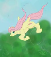 Fluttering By -MLP- by lonesome-wolf-child