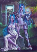 Night Elf by Archie-The-RedCat