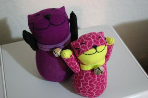 Lucky Cat series: 1 and 2 by belario