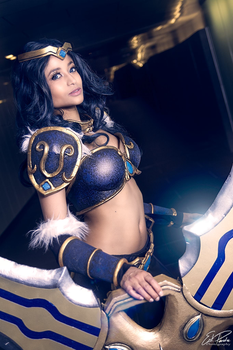Sivir - LoL - Close up by the-mirror-melts