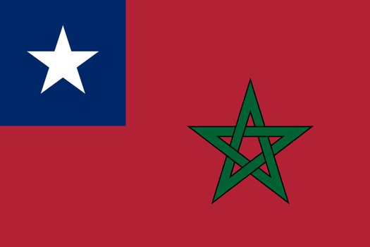 Commonwealth of American Morocco Flag by Wyyt