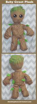 Baby Groot Plush by DonutTyphoon