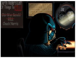 Darth Vader Comic Frame 3 by ALoversTryst