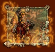 Fire Warrior by mighty5cent