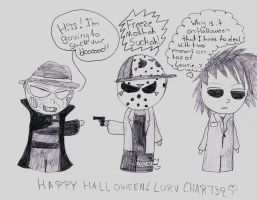 Horror Chibis Halloween '11 by Char739