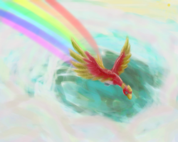 SS - Ho-Oh for Itachs-forever by goofanader