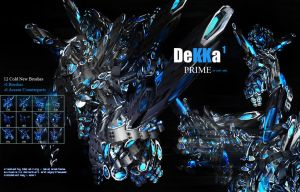 Dekka Prime - Brush Set by Strung