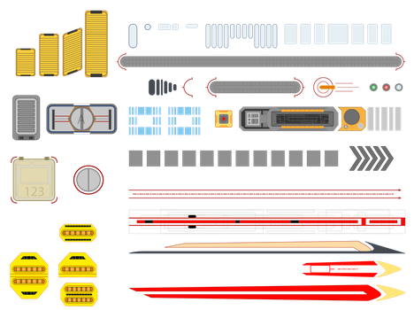Post-TNG Starfleet Decal Set by lonzo5