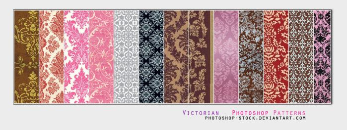 Victorian - PS Patterns by photoshop-stock